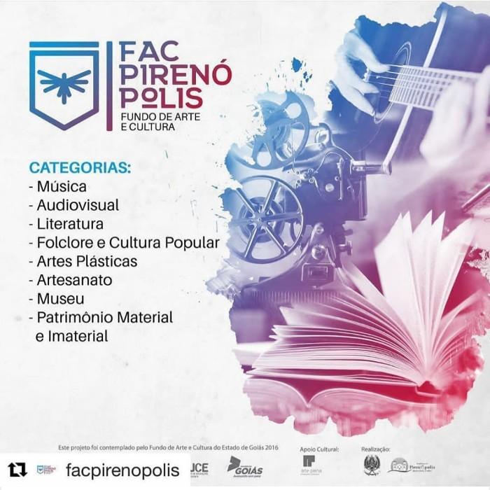 Lista de Aprovados da Primeira Edição do FAC Pirenópolis