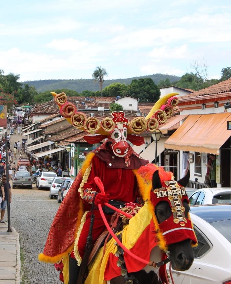 Mascarados de Pirenópolis Goiás