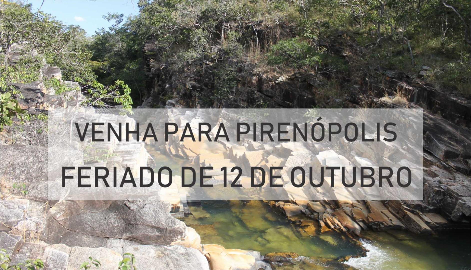 Feriado do dia 12 de Outubro de 2018 em Pirenópolis
