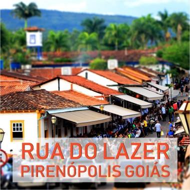 Rua do Lazer Pirenópolis Goiás
