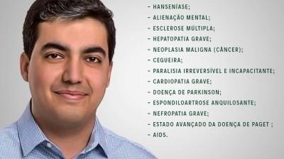 Projeto de Lei Isenta Cidadão com Doenças Graves de Pagar IPTU