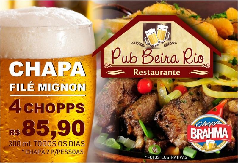 Pop Up Beira Rio Promoção Chapa de File
